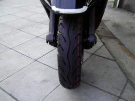 前タイヤは新品に交換してます!